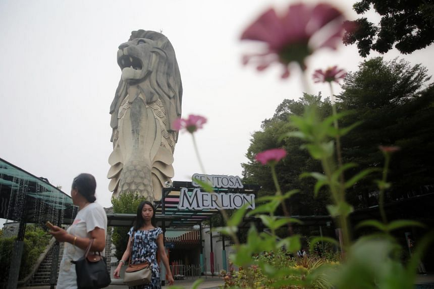 Work to demolish the 37m-tall statue, the largest of the seven across Singapore, will begin by the year end.