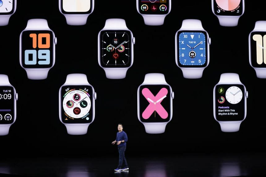 Apart from the new case materials, the biggest upgrade in the new Series 5 is its always-on display.