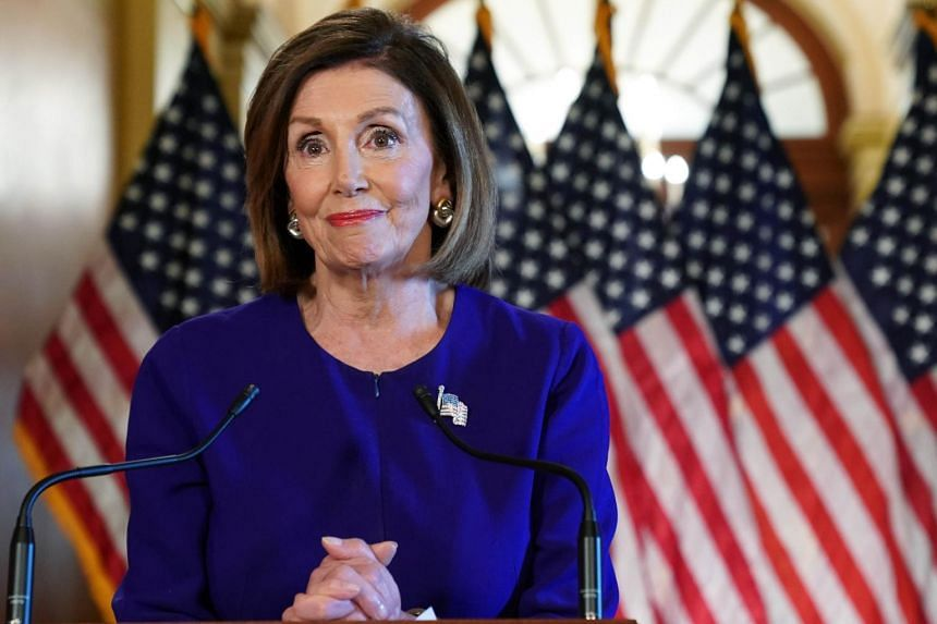 US House Speaker Nancy Pelosi has spent the year seeking to keep President Donald Trump in check, challenging him on immigration policy, the Budget, gun violence and more.