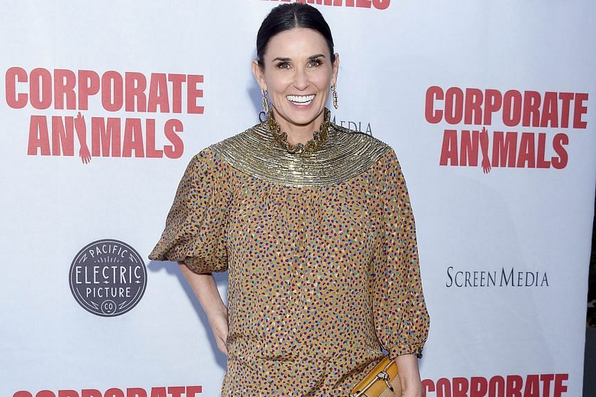 Demi Moore's Book Signing Outfit Is Perfect for Fall