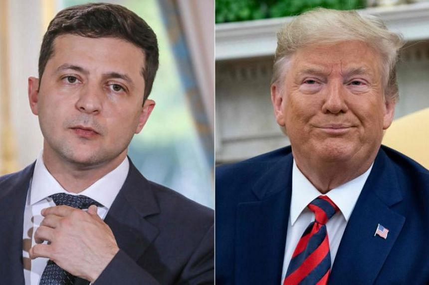 """US President Donald Trump  said on Sept 24 he will release the """"fully declassified"""" transcript of a controversial call with Ukraine's President Volodymyr Zelensky which is fuelling Democratic calls for his impeachment."""
