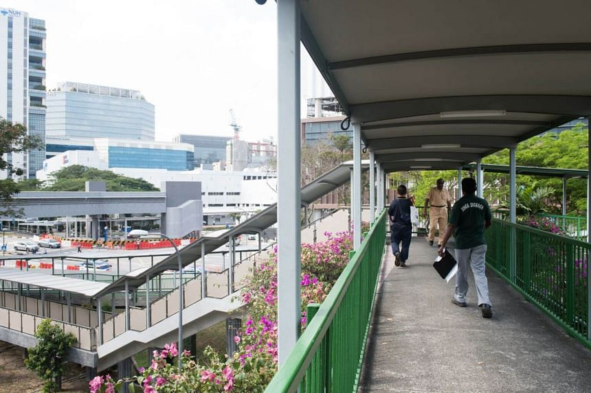 The overhead bridge at Ayer Rajah Expressway is one of 27 bridges that will be getting a lift.