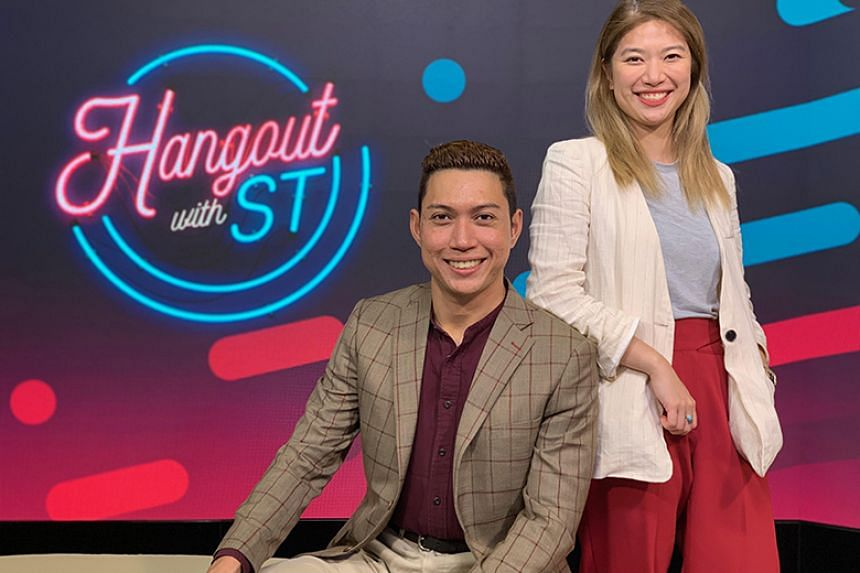 This week's Hangout with ST episode is helmed by multimedia journalists Hairianto Diman and Alyssa Woo.