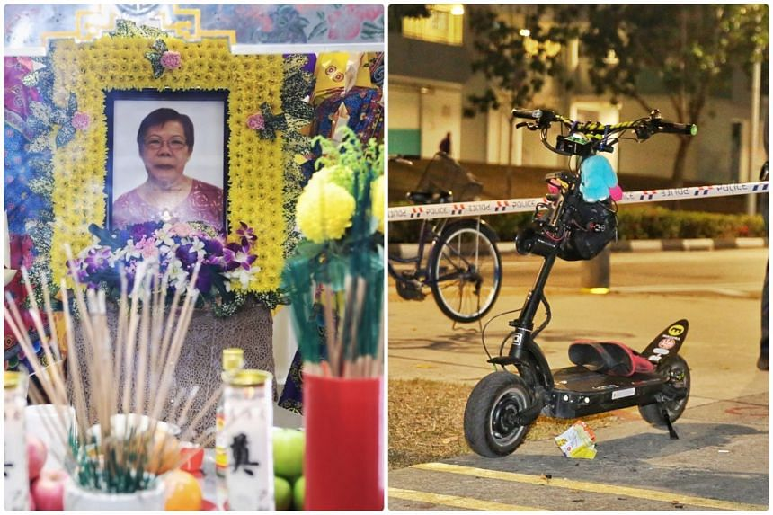 Madam Ong Bee Eng, a logistics assistant packer, died in hospital on Sept 25 after she was seriously injured in the accident.