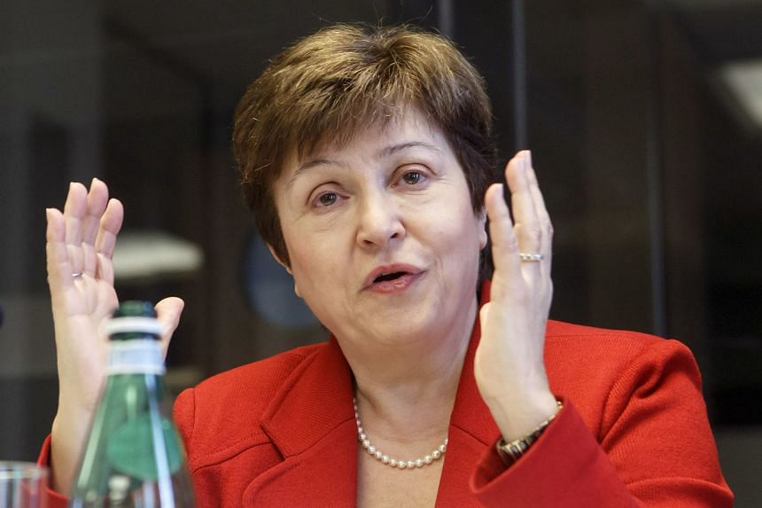 Georgieva (above), a top official at the World Bank, was chosen by the IMF's executive board to become the IMF's managing director.