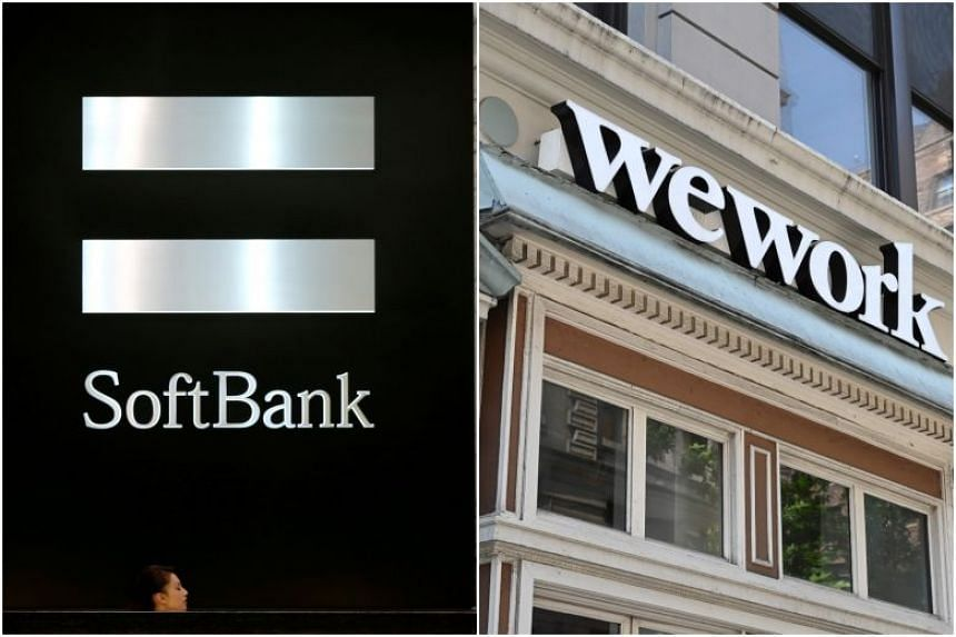 SoftBank invested in WeWork parent We Company at a US$47 billion valuation in January.