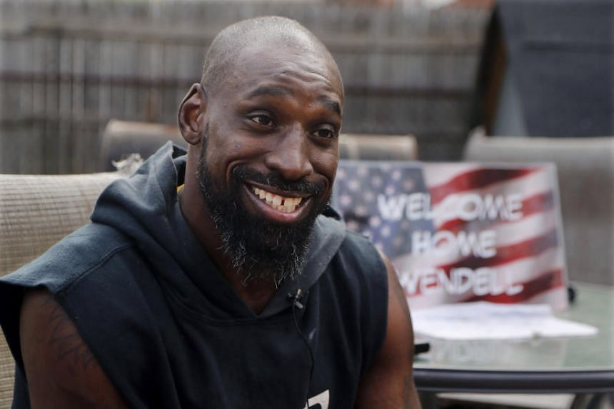 Former US college football player Wendell Brown home from prison ...