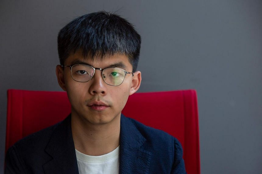 Prominent Hong Kong activist Joshua Wong asked for the franchise of Maxim's Caterers, which runs the Starbucks outlets in the city, to be terminated immediately.