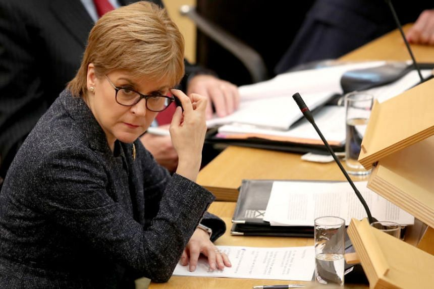 Scotland's First Minister and Scottish National Party leader Nicola Sturgeon (above) indicated she would support installing Labour leader Jeremy Corbyn or another candidate as temporary prime minister until a no-deal Brexit is off the table.