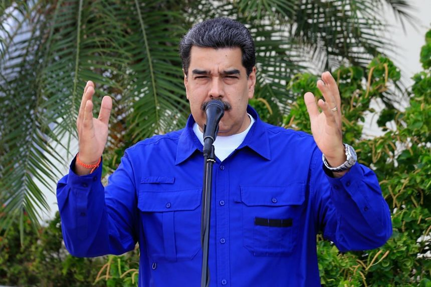 """Venezuelan President Nicolas Maduro said the images of US President Donald Trump's """"disgusting face"""" as he spoke to the """"lapdogs of US imperialism"""" is an embarrassment that reflects the US President's """"fatal obsession"""" with ousting him."""