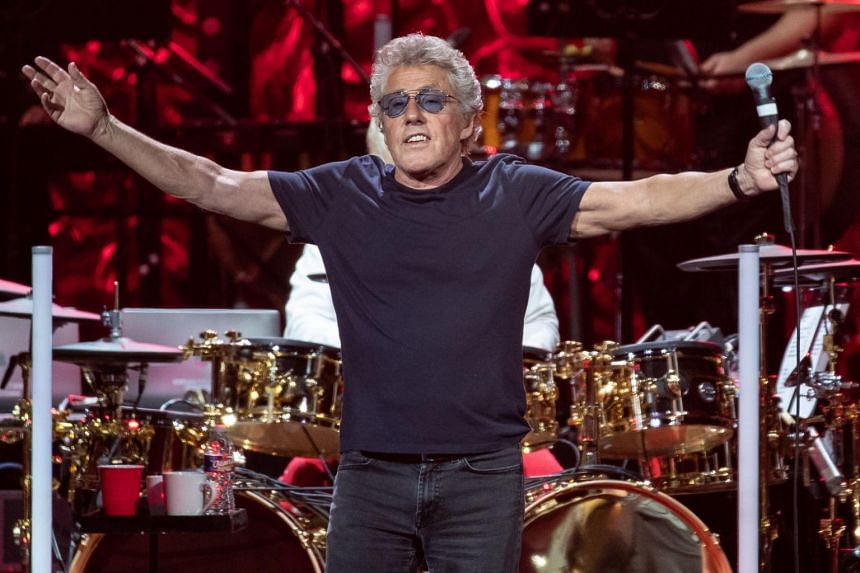Roger Daltrey of British rock band The Who performs at the Toyota Center on Sept 25, 2019 in Houston, Texas.