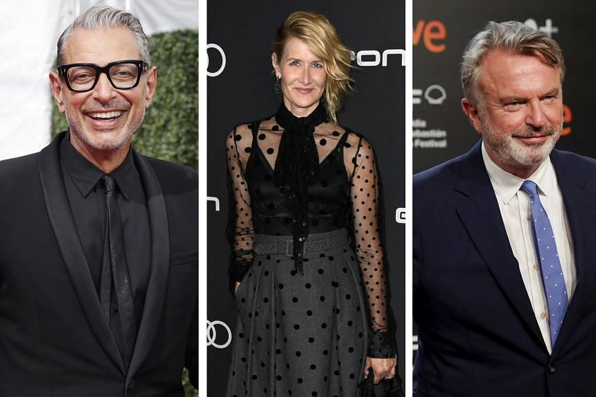 Original Jurassic Park Cast Reprising Their Roles In New Film Entertainment News Top Stories The Straits Times