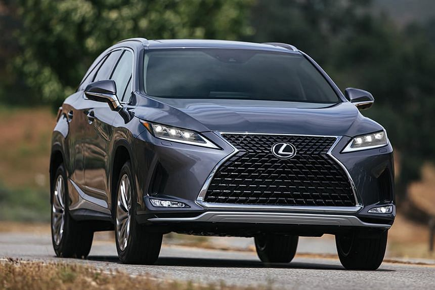 The Lexus RX is one of the highlights at The Cars@Expo.
