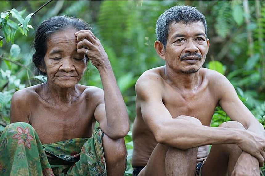 The Orang Rimba are a native Jambi community who live nomadically in the forest as a group. For them, radio is the only medium they have to get information. PHOTO: ANTARA INDONESIA NEWS AGENCY, INDONESIA