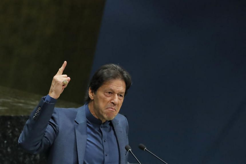 Pakistan Prime Minister Imran Khan made an impassioned speech to the United Nations General Assembly on Sept 27, 2019.