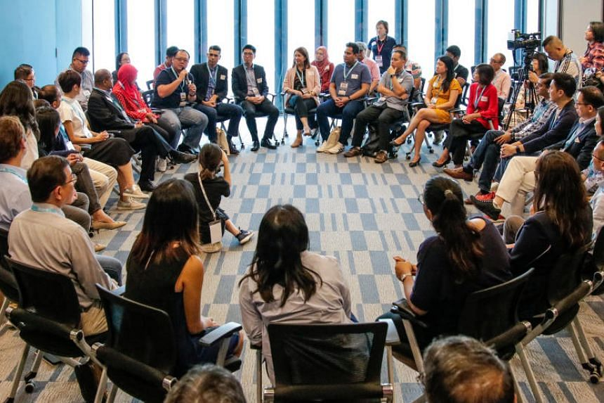 The panel of 58 people is part of a series of engagements with Singaporeans on marriage and parenthood matters led by Manpower Minister Josephine Teo.