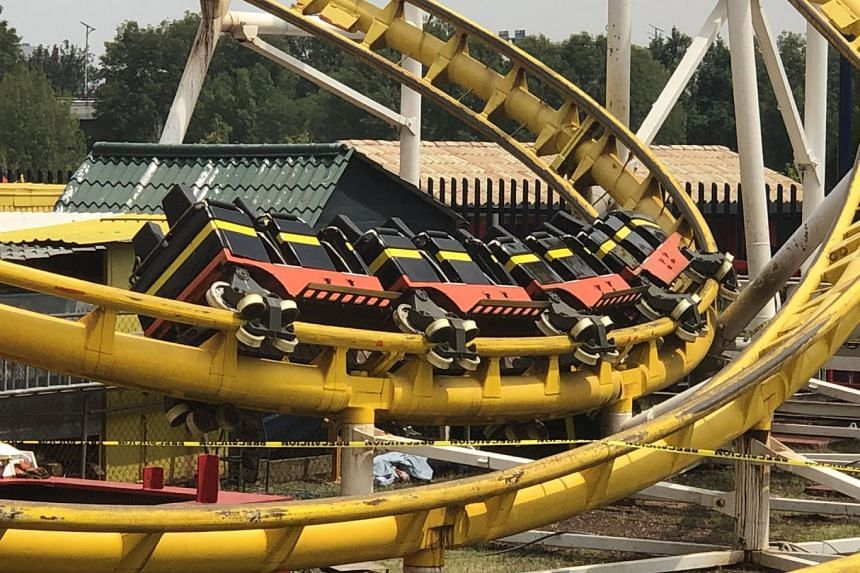 Dead After Roller Coaster Derails in Mexico City