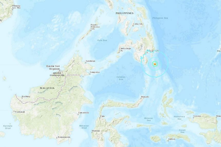 According to the Philippine Institute of Volcanology and Seismology, the earthquake struck off Davao Occidental province in the southern Philippines at 10.02am local time on Sunday (Sept 29).