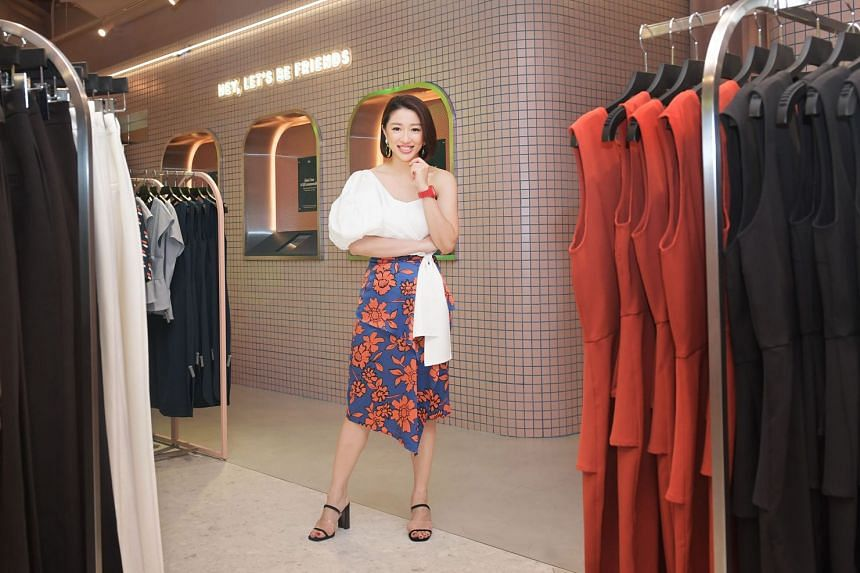 Ms Rachel Lim quit her university studies to devote herself to Love, Bonito, which now has 21 stores in Singapore – including its latest one at Funan (above) – and the region.