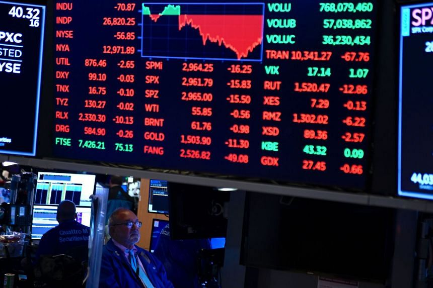 The report unnerved markets, with the S&P 500 Index closing about 0.5 per cent lower. US-listed shares of China-based companies, such as Alibaba and Baidu, tumbled.