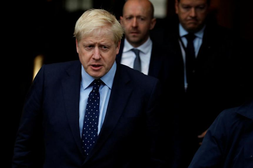 """British Prime Minister Boris Johnson said he would rather be """"dead in a ditch"""" that request a delay."""