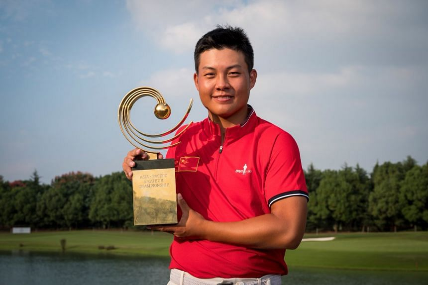 Lin Yuxin's victory sends him to the Masters and the British Open next year.