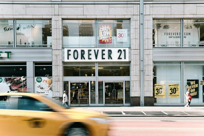 Court papers show Forever 21 has estimated liabilities on a consolidated basis of between US$1 billion and US$10 billion