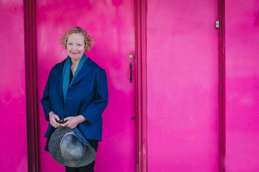 Lucy Ellmann, author of Ducks, Newburyport.
