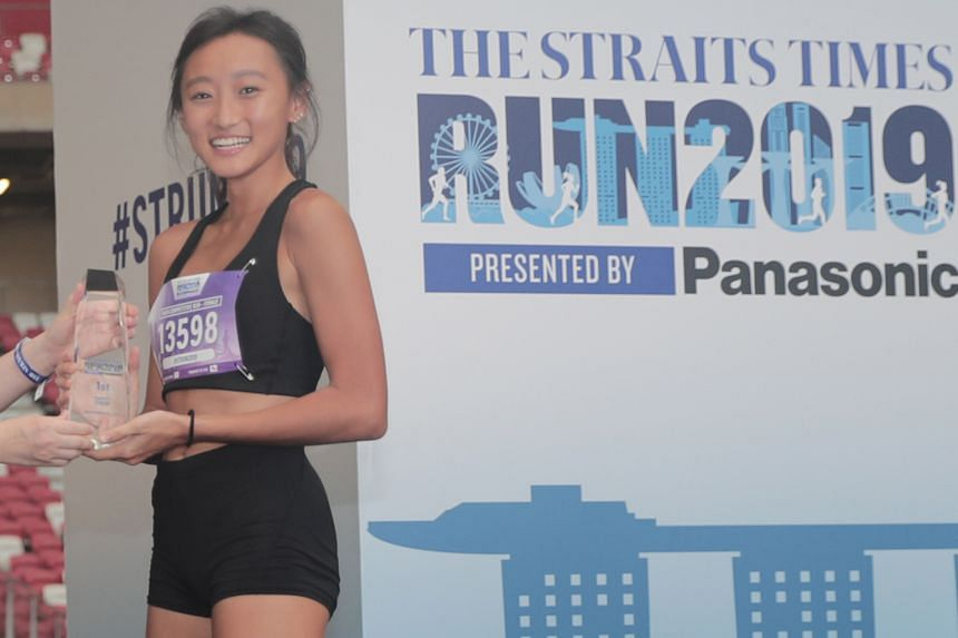 New Balance athlete Vanessa Lee took the honours in the 10km.