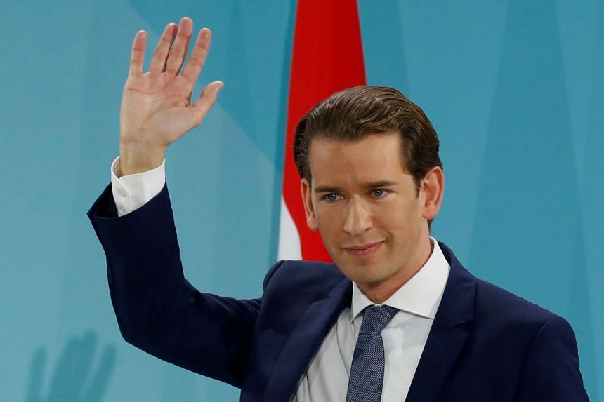 Austrian conservative leader Sebastian Kurz had cancelled his coalition with the far right and called the snap election in May.