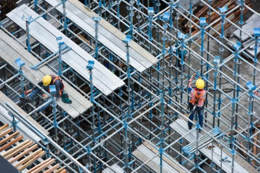 The top causes of workplace death were falls from heights, traffic accidents, and the collapse or failure of structures and equipment.