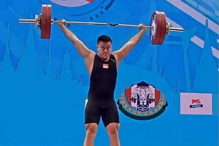 A dislocated finger could not stop national weightlifter John Cheah from setting three national records at the International Weightlifting Federation World Championships in Pattaya last week. The 27-year-old set new national marks in the snatch, clea