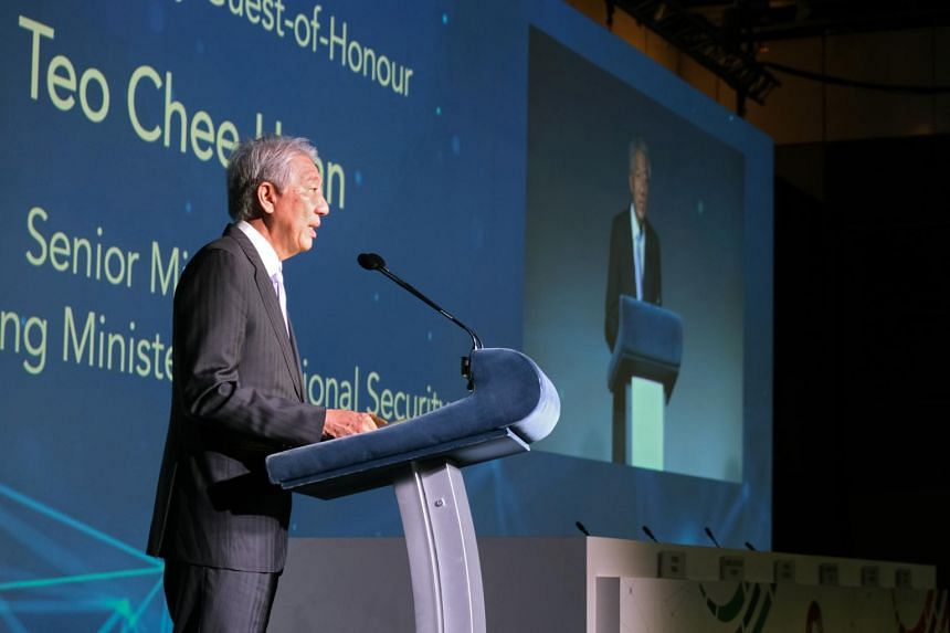 Senior Minister Teo Chee Hean announced the launch of the OT Cybersecurity Masterplan at the opening of the fourth Singapore International Cyber Week.