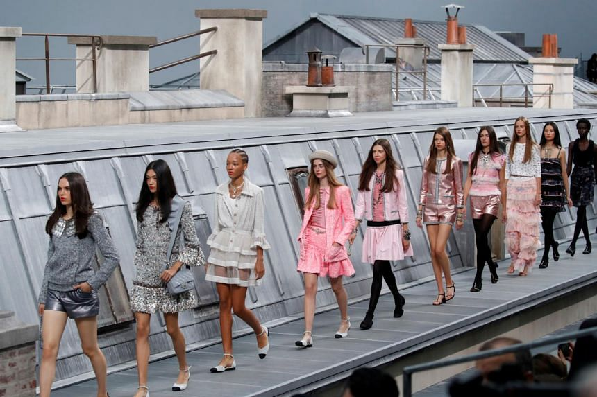 After Karl Lagerfeld's death, his former right hand Virginie Viard stepped up as creative director. She presented her spring 2020 runway collection on Tuesday at the Grand Palais in Paris.