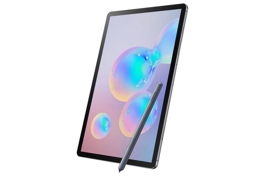 Samsung's Galaxy Tab S6 tablet (above) loses out to Apple and Microsoft, the front-runners at making tablets work for those who do more than consume media.