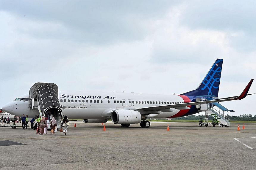Indonesia's private airline Sriwijaya Air, which operates flights within Indonesia and to China, Malaysia and Timor-Leste, reportedly saw its daily number of flights falling from 245 to around 120, after it had more than half of its fleet grounded ov