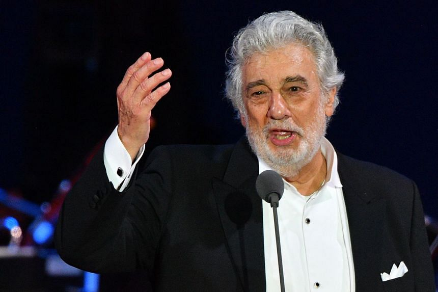 Placido Domingo performing in Hungary in August 2019.