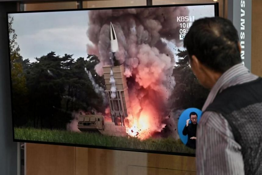 Britain, France, Germany request United Nations meeting on NK missile launch
