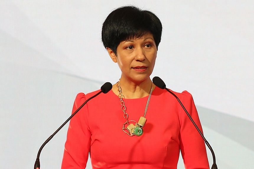 MS INDRANEE RAJAH, Minister in the Prime Minister's Office.