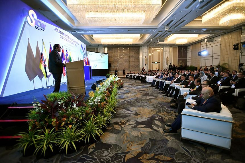Minister for Communications and Information S. Iswaran, speaking at the Asean Ministerial Conference on Cybersecurity yesterday, said the decision to open the new centre stems from Singapore's commitment to supporting regional cyber-capacity building