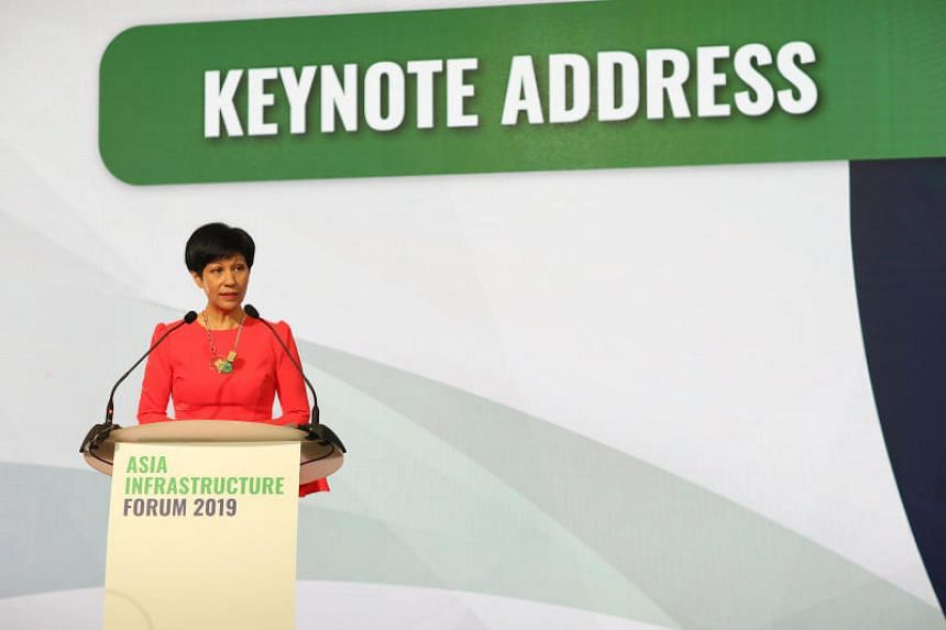Minister in the Prime Minister's Office Indranee Rajah had announced earlier at the Asia Infrastructure Forum that Singapore is moving forward with efforts to standardise language around project financing.