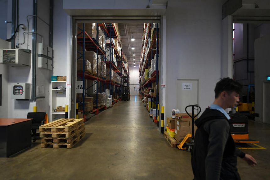 Colliers said regional trade and growth in e-commerce should channel to stronger warehouse demand in the long term and benefit the city-state given its logistics hub status.