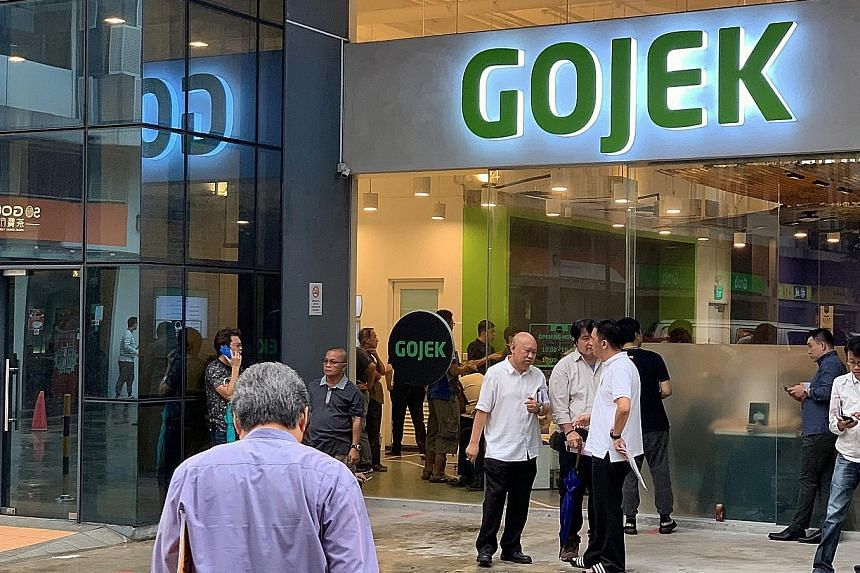 Ride-hailing firms took home the largest sum of investments for the Internet economy - over US$14 billion (S$19.3 billion) in four years. Leaders Grab and Gojek staged mega financing rounds to build up food delivery and financial services. Both also