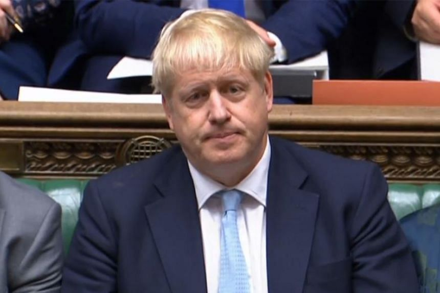 British Prime Minister Boris Johnson met his senior ministers on Oct 3 before setting out on a delicate mission to convince sceptical EU leaders to back his new Brexit plan.