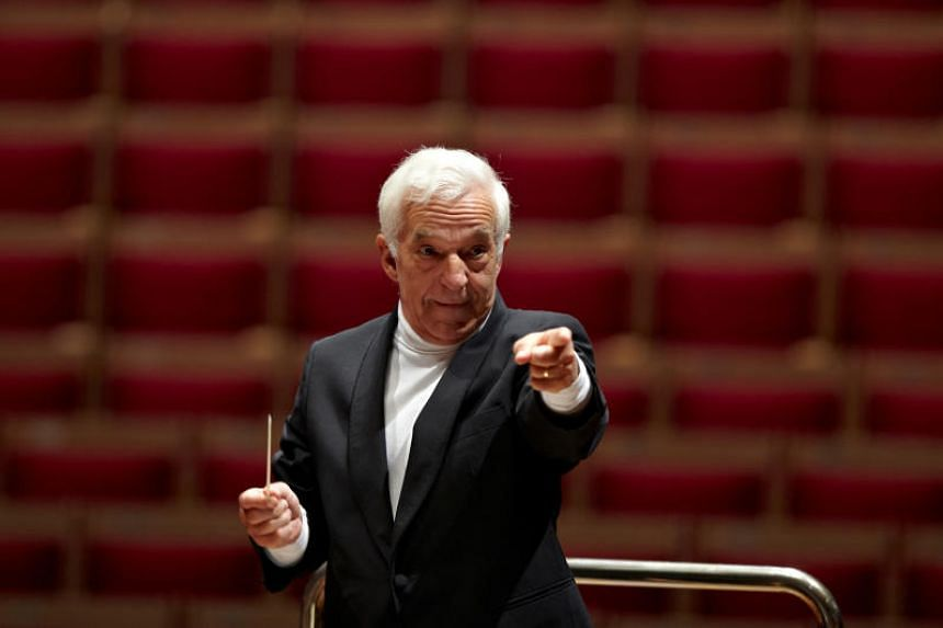 Celebrated pianist-turned-conductor Vladimir Ashkenazy.