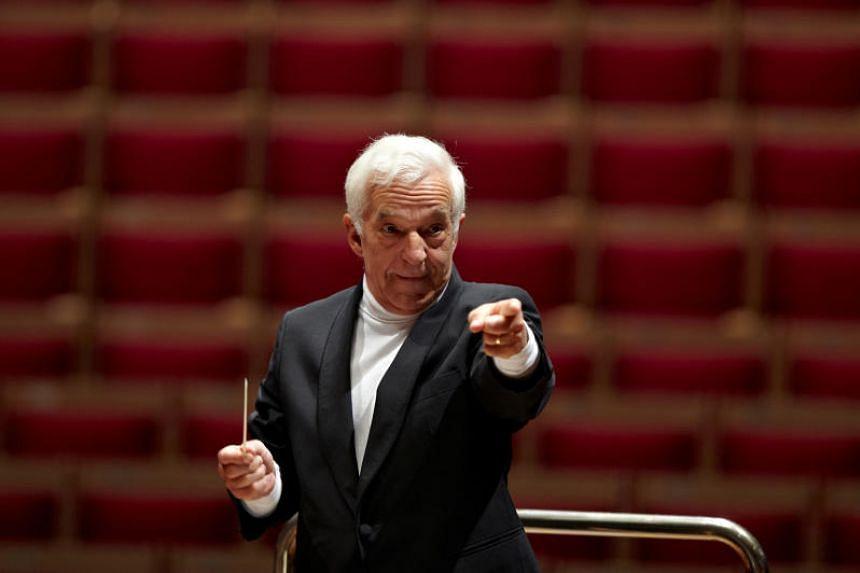 Celebrated pianist-turned-conductor Vladimir Ashkenazy.
