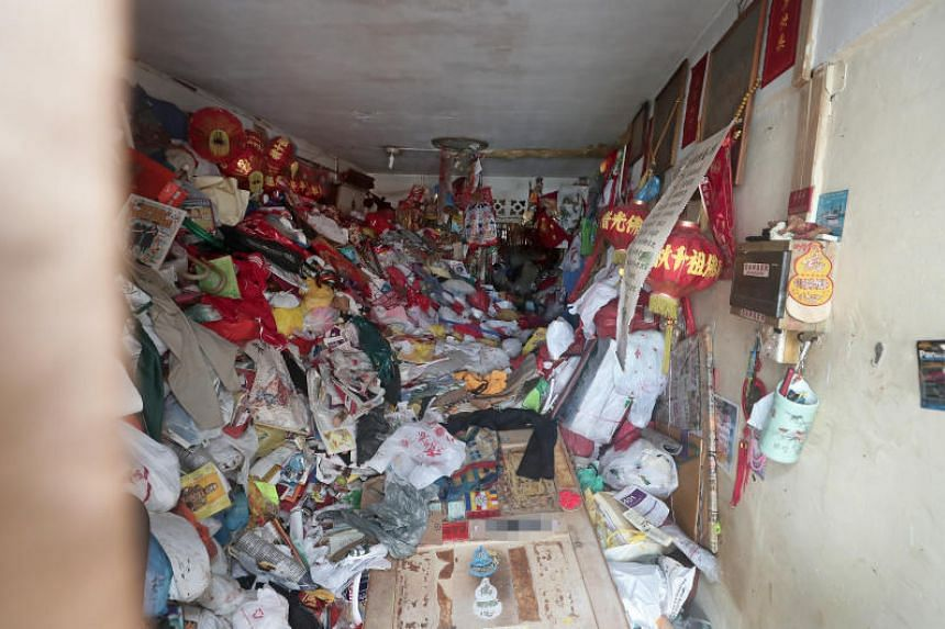 A 68-year-old man was found dead amid piles of rubbish inside his Bedok North flat on Sept 28, 2019.