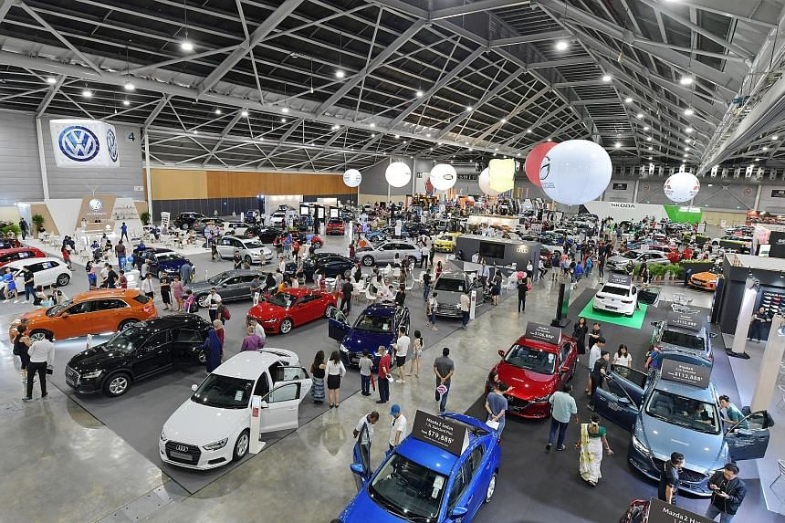 """When sales manager David Lo, 44, turned up at The Cars@Expo 2019 show yesterday, he came ready with a plan. He said: """"I've returned again to The Cars@Expo after purchasing a car in 2016 as you can really find better deals and discounts here. Although"""