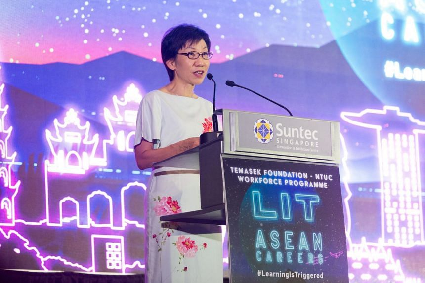 Minister for Culture, Community and Youth Grace Fu said that a blend of hard and soft skills are needed for young Singaporeans to thrive and make the most out of opportunities in the region.