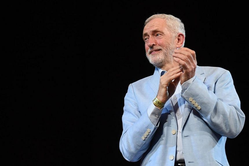 In the chaos of Brexit, Labour leader Jeremy Corbyn is trying to remint himself as a safe pair of hands, and an unlikely salve to jittery British markets panicked by plans for an abrupt split with the European Union.